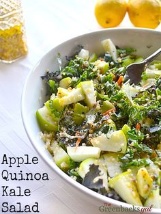 Apple Quinoa Kale Salad Recipe