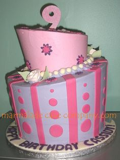 cool birthday cakes for 9 year old girl | Mad Hatter for 9-year old girl — Birthday Cakes