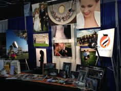 585Weddings bridal show booth for Daniel Fischer Photography, based in Rochester, NY.