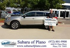 https://flic.kr/p/yVqZc3 | Congratulations Michael on your #Subaru #Outback from Aaron Dunson at Subaru of Plano! | deliverymaxx.com/DealerReviews.aspx?DealerCode=K252