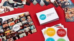 Love the idea of a photo collage for an invitation post card.