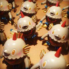"""98 次赞、 3 条评论 - ひかりバンビ(HikariBambi) (@hikaribambi) 在 Instagram 发布:""""Completed MazingerZ Sakanari! マジンガーZサカナトリも完成!これから袋詰め作業! #gonagai #永井豪 #マジンガーZ #sakanatori…"""""""