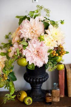 wedding floral urns - Google Search