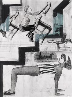 Sigmar Polke (German, 1941-2010), A Bit More Order is Needed in the Name of Anarchy, 2000.