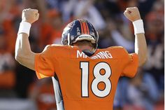 K so... PEYTON MANNING'S TEAM THE DENVER BRONCOS ARE IN SUPER BOWL48