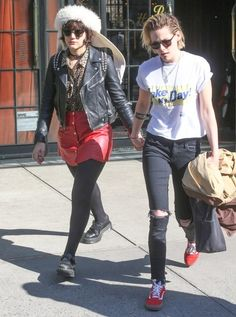 Kristen Stewart and Soko Take a Walk Together in NYC
