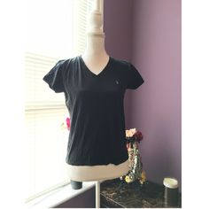 🌟SALE🌟Ralph Lauren POLO Shirt Black cotton T, very comfy and can be worn anytime. Any questions please ask ☺️ Ralph Lauren Tops