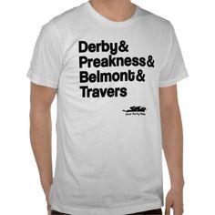 Horse Racing Classics T-Shirt/zazzle