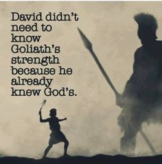Jehovah is much stronger than anything