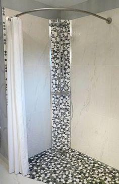 Douches italiennes de l 39 h tel au beaujolais saint jean for Rideau de douche rond