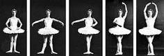 I want to get pics of our ballerina doing the ballet positions and frame it for her! Like this....