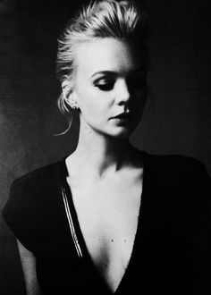 [Carey Mulligan, photographer unknown] Thank you for such a brilliant shot. AJ.