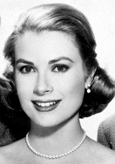 Close-up of Grace Kelly in a publicity still for High Society