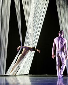 """""""Triangle of the Squinches"""" is a collaborative, full-length, contemporary ballet created by San Francisco Architect, Christopher Haas and San Francisco Choreographer, Alonzo King & LINES Ballet."""