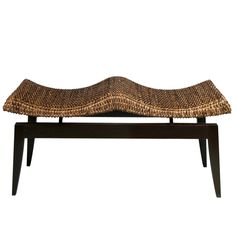 The Dehli Bench From Walters Wicker Exterior Collection