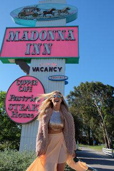 Madonna Inn Neon Sign