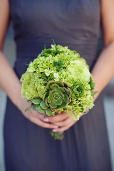 all green bouquet | photography by Meg Perotti