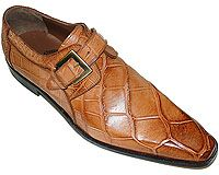 Mauri # 1032 Cognac at AlligatorWorld.com - Exotic Skin Shoes