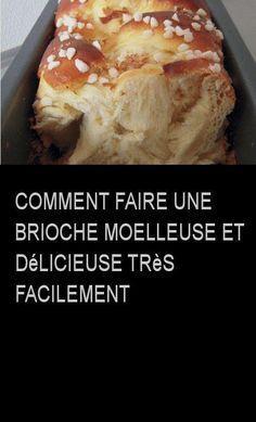 Comment faire une brioche moelleuse et délicieuse très facilement #commentfaire #comment #faire #facile #tresfacile #brioche #moelleuse