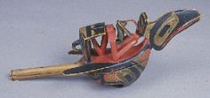 Raven Rattle - Ethnology Collections Database - Burke Museum