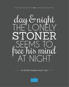 day & night Kid Cudi Quote Customizable by fivethreecreative, $20.00