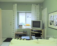 Small Apartment Makeover (After) | Redesigned By M