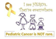 support childhood cancer awareness