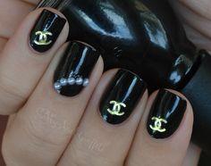 My Nail Graffiti: Chanel Inspired Nail Art