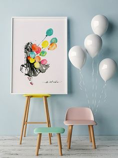 Jean Choe Art & Design Do It Now Watercolor art print