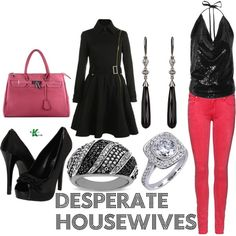 My creation inspired by Desperate Housewives character Gabrielle Solis.