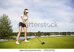 This represents Jordan because she is a golf player, but is also known to cheat.