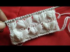 Sweater Design 50 - YouTube Two Color Knitting Patterns, Beginner Knitting Patterns, Knitting Videos, Knitting For Beginners, Knitting Designs, Stitch Patterns, Crochet Patterns, Lace Knitting, Knitting Stitches