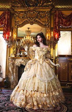 Halloween Custom Belle Upscale Adult Fantasy by RomanticThreads