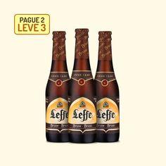 Cerveja Leffe Brown - 330 Ml - Promoção Pague 2, Leve 3