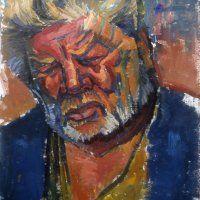 portrait_1 Mary, Portrait, Painting, Color, Colour, Men Portrait, Painting Art, Paintings, Painted Canvas