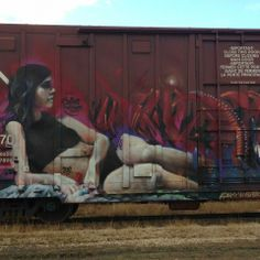 Railcar Graffti Graffiti Art, Graffiti Tagging, Different Art Styles, Train Art, First Art, How Train Your Dragon, Street Artists, Amazing Art, Modern Art
