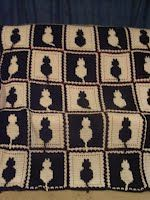 Cat Squared Free Crochet Afghan Patter-Krisrow