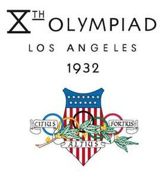 1932 LA Olympics. Add Around The Rings on www.Twitter.com/AroundTheRings & www.Facebook.com/AroundTheRings for the latest info on the Olympics.
