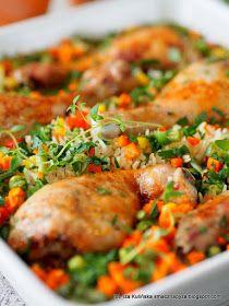 palki-kurczaka-zapiekane-na-ryzu-z-warzywami