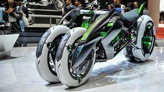 カワサキがタイムマシン実現、未来からバイクを盗ってくる : ギズモード・ジャパン