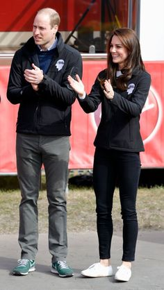 The Duchess of Cambridge is a big fan of the Superga 2750 COTU Classic Sneaker. Here's where you can buy a pair of your own. Duchess Kate, Duchess Of Cambridge, Superga Sneakers, Queen Rania, Kate Middleton Style, Hollywood, Classic Sneakers, Casual Outfits, Royals
