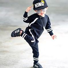 When your outfit is so on point , you'll have an irresistible urge to dance 😎🖤🕺🏻👑🔥🤘🏼 . Trendy Boy Outfits, Cute Outfits For Kids, Baby Boy Outfits, Cute Kids, Baby Boys, Cute Baby Boy, Cute Little Baby, Stylish Little Boys, Stylish Baby