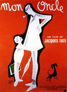 Mon Oncle-The house featured in this movie was the inspiration for the house of Professor X in the Powerpuff Girls!