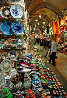 THE GRAND BAZZAR ISTANBUL TURKEY,