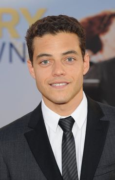 Rami Malek; too many blonde Blue eyed guys. Nice to see something different.