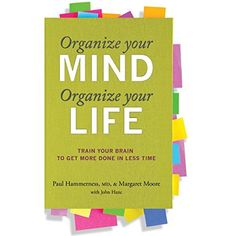 "Another must-listen from my #AudibleApp: ""Organize Your Mind, Organize Your Life"" by Paul Hammerness, narrated by Victor Bevine."
