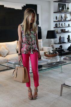 Pink pant . Calça rosa