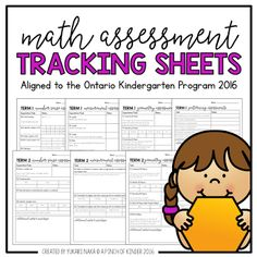 A Pinch of Kinder: Math Assessment Tracking Sheets Aligned to the Ontario Kindergarten Program 2016 Kindergarten Assessment, Math Assessment, Kindergarten Math Activities, Numbers Kindergarten, Kindergarten Lesson Plans, Stem Activities, Measurement Kindergarten, Ontario Curriculum, Curriculum Mapping