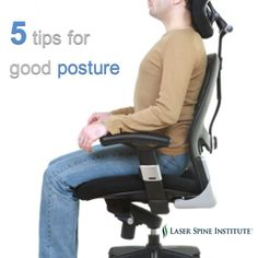 Tips for good #posture