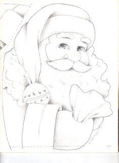 I still have my painting of this Santa.
